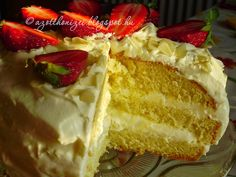 Az otthon ízei: Vaníliás torta Muffins, Cheesecake, Yummy Food, Cakes, Muffin, Delicious Food, Cake Makers, Cheesecakes, Kuchen
