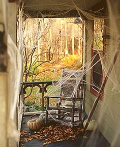 haunted house decor halloween spider webs ms