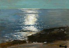 Moonlight on the Sea