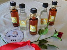 "Tsipouro & Liquer ""Rodovoli"" Hot Sauce Bottles, Shop, Gifts, Presents, Gifs, Favors, Store"