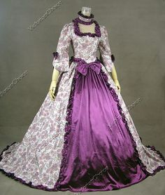 Victorian Ball Gowns | Victorian Ball Gown Wedding Dress Prom Cosplay Design for Victoria's second gown.