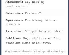 The song of Achilles- Illiad Jandy Nelson, Greek Memes, Achilles And Patroclus, Wolfstar, Greek Gods, Book Fandoms, Greek Mythology, Gay, It Hurts