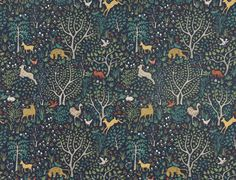 Another sneak peek - Folkland in Admiral from our upcoming @DwellStudio Prints collection, Decorative Modern