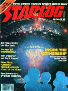 Steven Spielberg got some big box office in 1980 when he re-released his Close Encounters of the Third Kind as a Special Edition. Movie Magazine, Pulp Magazine, Magazine Covers, Music Tv, Art Music, Flash Gordon Comic, Future Magazine, Science Fiction Magazines, Clash Of The Titans