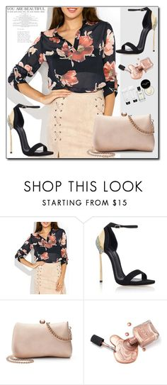 """""""Bez naslova #26"""" by zehra-zehra-1 ❤ liked on Polyvore featuring Casadei, LC Lauren Conrad and Bobbi Brown Cosmetics"""