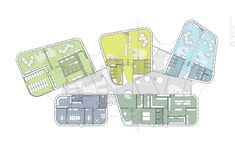 The Architecture of Early Childhood: Kindergarten Design by CEBRA B Architecture, Education Architecture, Architecture Drawings, Kindergarten Projects, Kindergarten Design, School Projects, Design Maternelle, School Plan, School Floor Plan