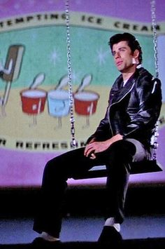 Stranded at the Drive-In ~ Danny Zucko, Grease ~ John Travolta Grease 1978, Grease 2, Danny Grease, John Travolta, Drive In, My Fair Lady, Nova Jersey, Grease Live, Grease Is The Word