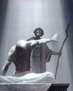 The Prince of Egypt Concept Art. - Paul Lasaine