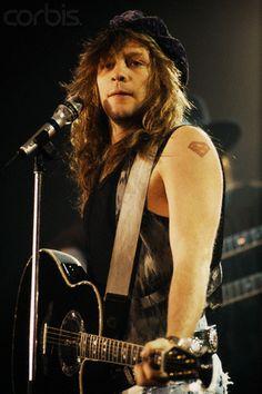 Singer Jon Bon Jovi (1992)