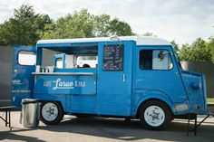 Citroën HY food truck in Montreal, Canada