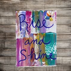 Wall Art, Canvas quotes, art gift word artwork Heavy Textured Painting on canvas, affirmations, art, gift, typography by Katey