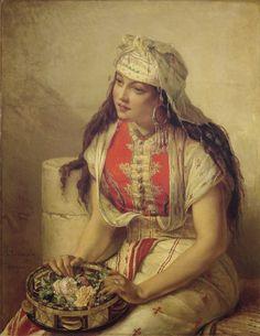 An Oriental Beauty, by Jean-Francois Portaels
