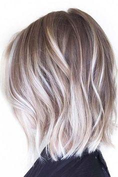 Stilvolle Frisuren für mittellanges Haar #frisuren #mittellanges #stilvolle
