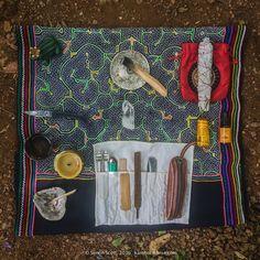 Kambo Altar, ready to give Kambo!