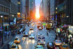 #ManhattanHenge #nofilter #sunset #NY #love #Manhattan