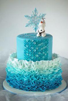tortas decoradas frozen