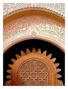 Marrakech Medersa, Morocco / The Ben Youssef Medersa, an Islamic school attached to the Ben Youssef Mosque, is home to some of the most beautiful art and architecture in Marrakesh.