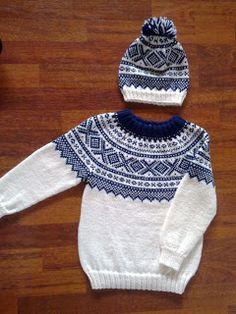 Sweater Knitting Patterns, Knit Patterns, Knit Baby Sweaters, Men Sweater, Fair Isle Knitting, Knitting For Kids, Crochet Projects, Knit Crochet, Knitwear