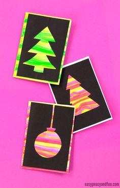 DIY Silhouette Christmas Card Ideas