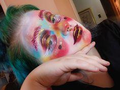 Drag Makeup, Goth Makeup, Makeup Inspo, Makeup Art, Makeup Inspiration, Beauty Makeup, Eye Makeup, Cool Makeup Looks, Creative Makeup Looks