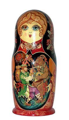 Russian Nesting Doll. http://www.pinterest.com/MatryoshkasSoap/one-of-a-kind-matryoshka/