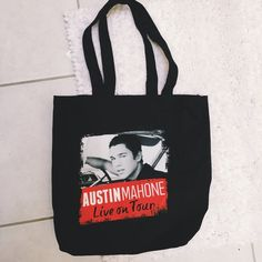 Austin Mahone meet and greet bag Cute tote handed to me by Austin Mahone's friend:) selling because I don't use it / bundle for discount! Bags