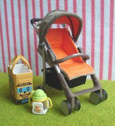 Re-ment : Baby Play Time : Pram / Stroller and School Bus Bag #7 by HarapekoDoggyBag, via Flickr