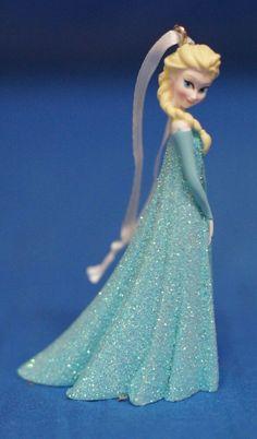Disney Store Frozen Anna Christmas Ornament 2014 NIB w// tags