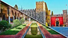 El Alcazar de Sevilla, cuyos orígenes se remontan al siglo X, fue escenario para el rodaje de la serie Juego de Tronos como Los Jardines del Agua, en Dorne. Se conserva en muy buen estado y se puede visitar.