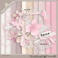 Sweet mini kit :: Full & Mini Kits :: Memory Scraps