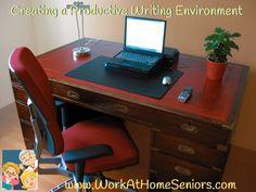 Creating a Productive Writing Environment