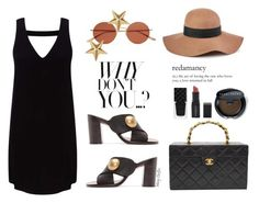 """""""Why don't you..?"""" by mcheffer ❤ liked on Polyvore featuring Miss Selfridge, Reiss, Chloé, Oliver Peoples, Marc Jacobs, Chanel, Gucci, Smashbox and Bobbi Brown Cosmetics"""