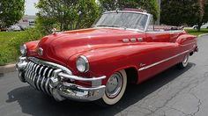 1950 Buick Super red conv.