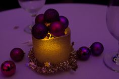 Stunning centerpiece!   (Photo by Maria Ignacio '13)