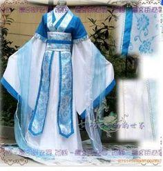 China Hanfu Purple Dress white Kimono - Personal Style - Steampunk ...