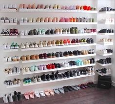 dream shoe wardrobe #loveshoes