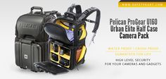 Amazing Backpack for Photographers! Latest addition to the Pelican ProGear Backpack range. No compromise on the safety of your equipments while you travel!