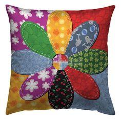 Sewing Pillows, Diy Pillows, Handmade Pillows, Decorative Pillows, Scrap Fabric Projects, Sewing Projects, Sunflower Quilts, Scrap Quilt Patterns, Diy Pillow Covers