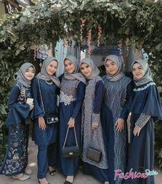 Kebaya Muslim, Dress Brokat Muslim, Kebaya Modern Hijab, Dress Brokat Modern, Model Kebaya Modern, Kebaya Hijab, Kebaya Brokat, Kebaya Dress, Muslim Dress