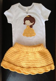 Adorable Princess Bell outfit.  Other princesses available!
