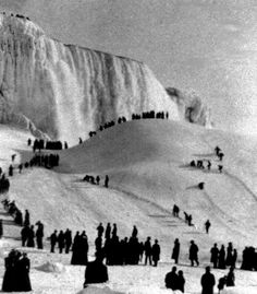 U.S. The year Niagara Falls froze, 1911...