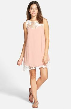 I LOVE THIS DRESS  Paper Crane Lace Illusion Swing Dress available at #Nordstrom