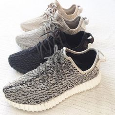 Adidas x /Kanye West Yeezy 350 Boost (turtle dove, private black, moon rock, Oxford tan)