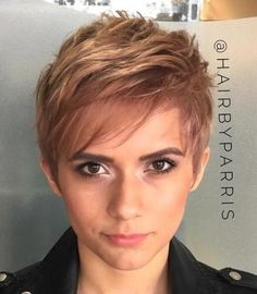 Layered Pixie For Thin Hair