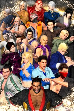 Virtua Fighter 5 Characters | Virtua Fighter 5 FS Character Tutorial Videos - IPLAYWINNER - FIGHTING ...