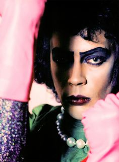 dontdreamitbehim:Tim Curry as Dr. Frank N. Furter photographed by Mick Rock@therealmickrock captures the sexy!