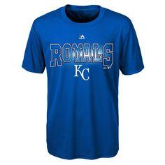 Kansas City Royals Boys Light Up The Field Synthetic T-Shirt