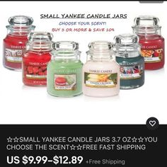 Big Candles, Candles For Sale, Rustic Candles, Prices Candles, Yankee Candle Jars, Candle Store, Good And Cheap, Diy Christmas Gifts, Christmas Holidays