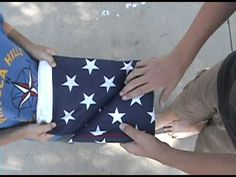 Video 3 in a series of 5 videos providing instruction on American Flag Awareness.   Connor Morrell's Eagle Scout Project 2011.
