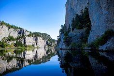 Holter Lake Outside Helena Montana